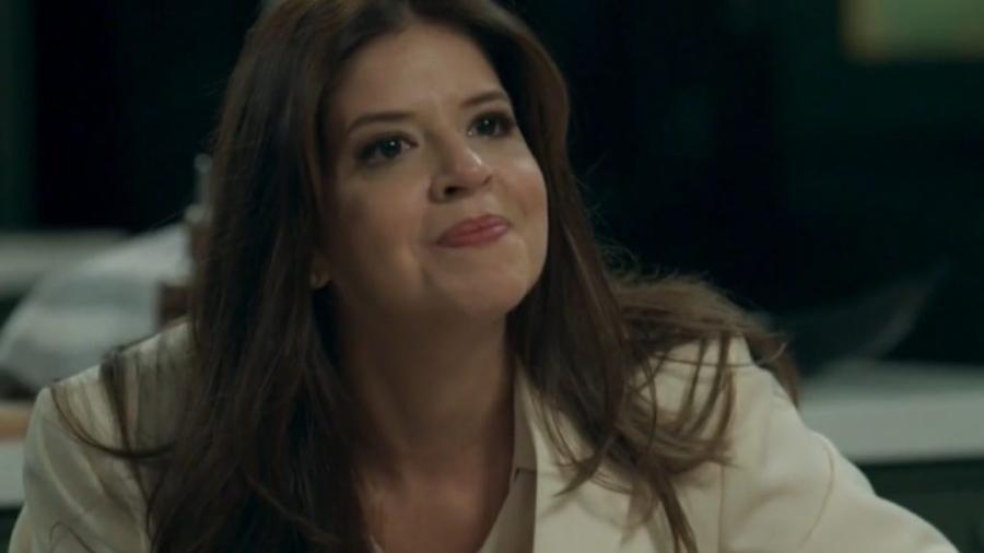 Maria Pia (Mariana Santos) em Pega Pega (Reprodução/Globo) - Reprodução / Internet