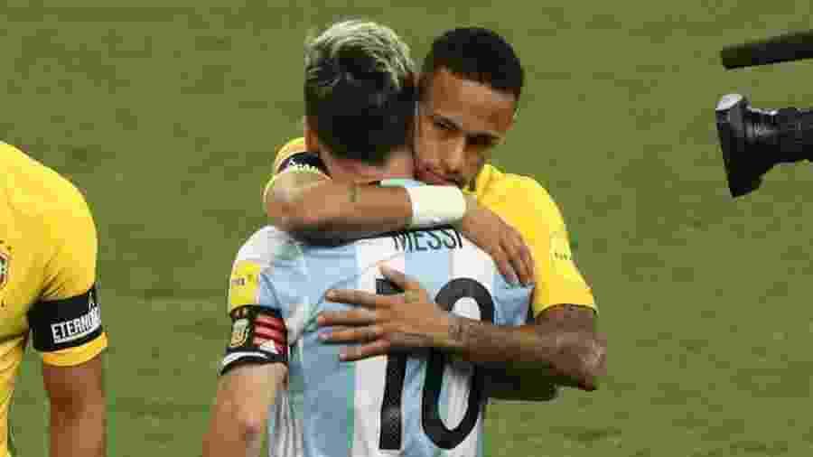 d6de175bb0 Neymar lamenta Messi fora de amistoso com seleção