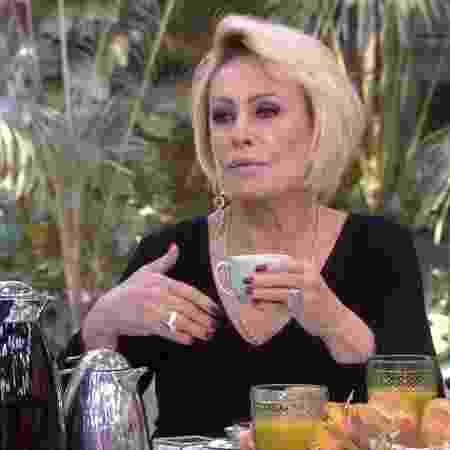 Ana Maria Braga no Mais Você (Reprodução/TV Globo)