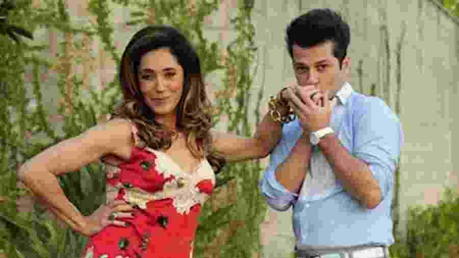 Tereza Cristina e Crô em Fina Estampa (Divulgação) - Reprodução / TV Globo