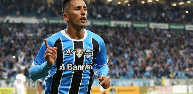 Estrangeiro tem média de um gol a cada 82 minutos pelo Grêmio e é artilheiro no ano