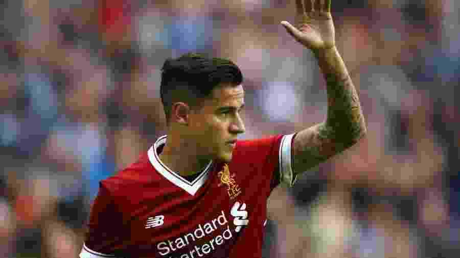Coutinho segue de fora do Liverpool por dores nas costas -