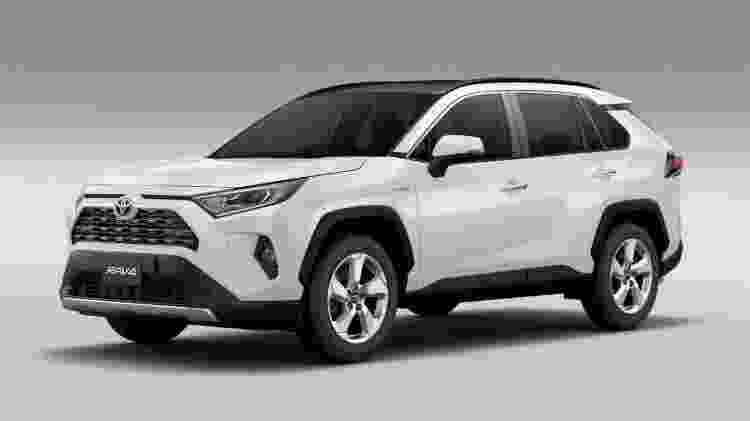 Toyota RAV4  - Divulgação - Divulgação