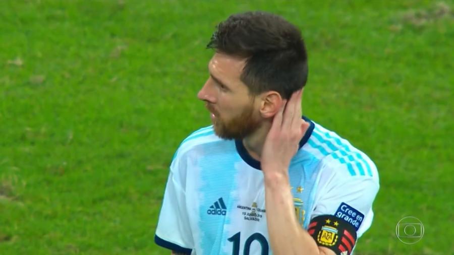 Aos 33 anos, Messi ainda busca seu primeiro título com a seleção argentina principal - Reprodução