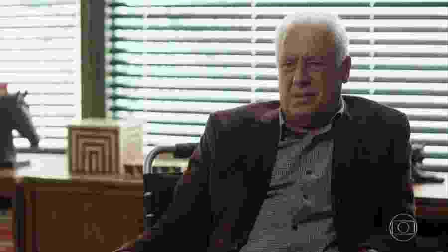 Alberto (Antonio Fagundes) em Bom Sucesso (Reprodução/TV Globo). - Alberto (Antonio Fagundes) em Bom Sucesso (Reprodução/TV Globo).