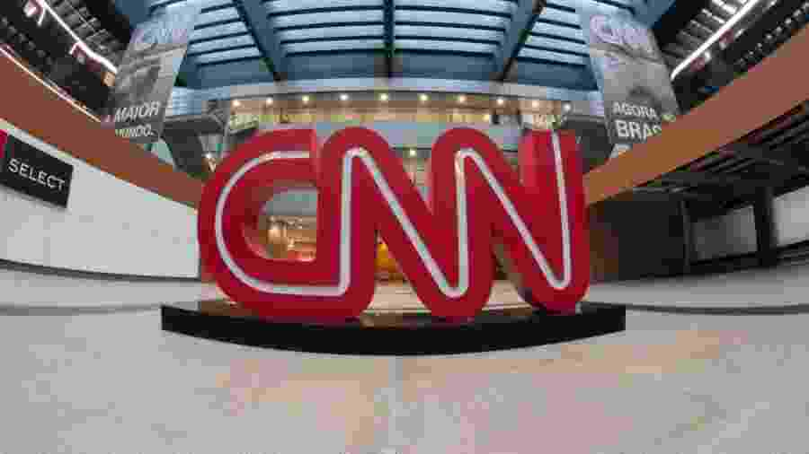 Saguão da sede da CNN Brasil, em São Paulo - Reprodução / Internet