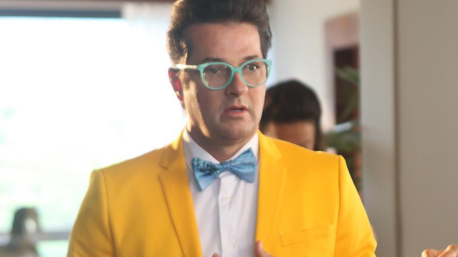 O ator Marcelo Serrado como Crô (Foto: Divulgação) - O ator Marcelo Serrado como Crô (Foto: Divulgação)