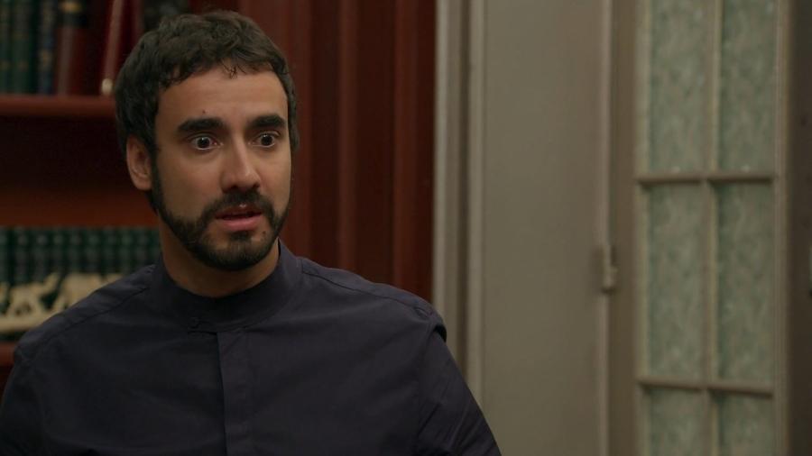 Leozinho (Gabriel Godoy) em Haja Coração (Reprodução/TV Globo). - Reprodução / Internet