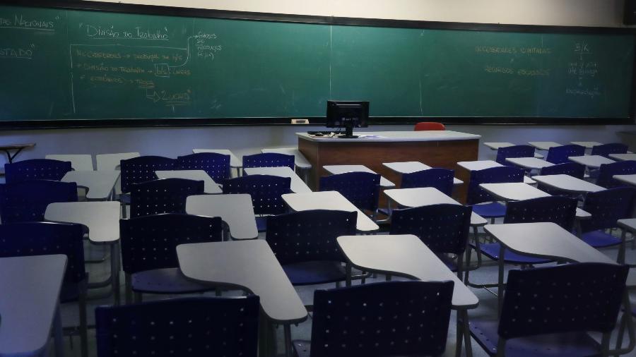 Sala de aula - REUTERS/Amanda Perobelli