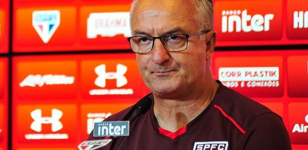 O técnico do São Paulo, Dorival Júnior