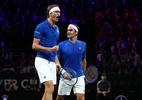 Federer/Zverev vencem nas duplas e aumentam vantagem da Europa na Laver Cup - (Sem crédito)