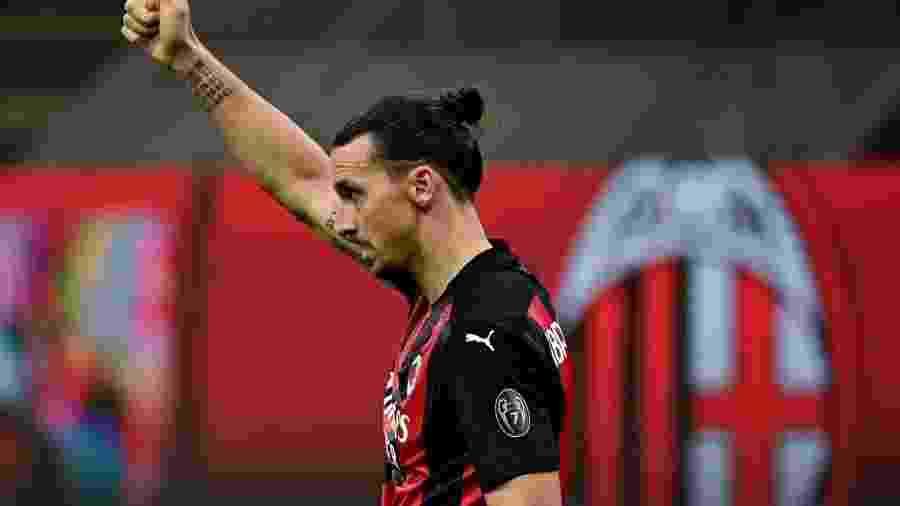 Ibrahimovic é o artilheiro do Campeonato Italiano e já mira Chuteira de Ouro - Miguel Medina / AFP