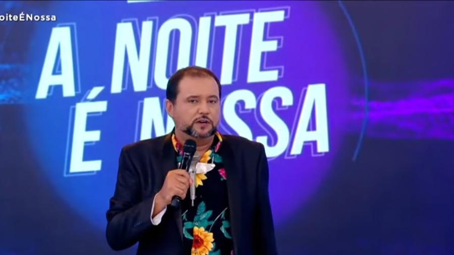 """Geraldo Luís atualmente apresenta o """"A Noite É Nossa"""", na Record  - Reprodução / Internet"""