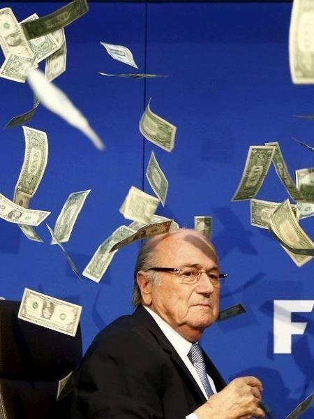 Escândalo de corrupção derrubou Joseph Blatter da presidência da Fifa - Arnd Wiegmann/Reuters