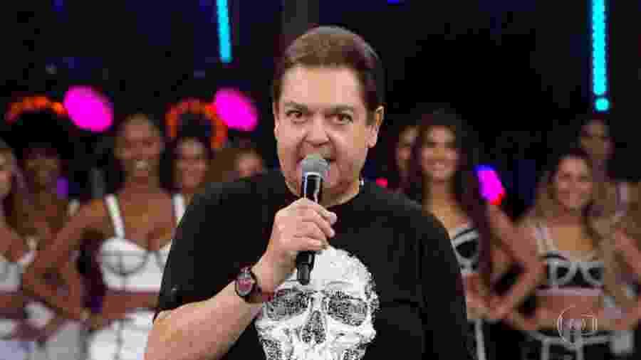 Fausto Silva - Reprodução/TV Globo
