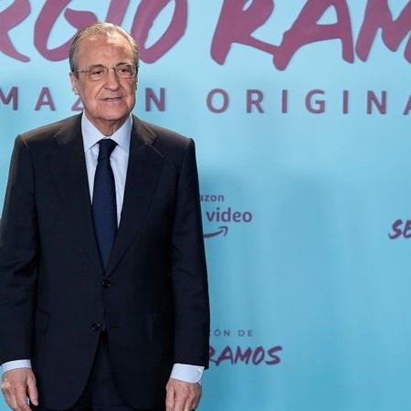 Florentino Pérez, presidente do Real Madrid - GettyImages