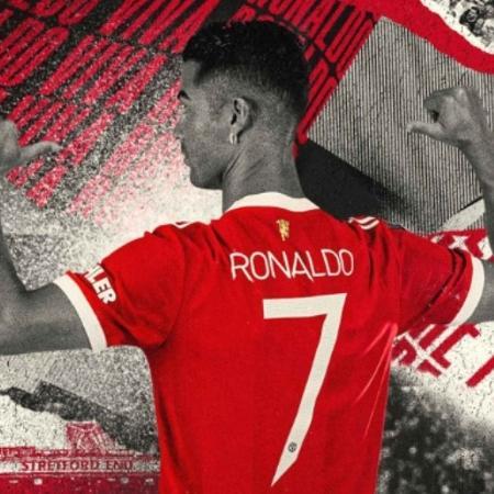 Manchester United confirma camisa 7 de Cristiano Ronaldo - Divulgação/Manchester United