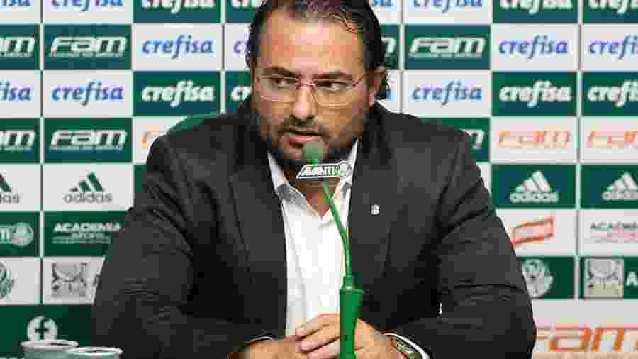 """Diretor Alexandre Mattos se esforçou para manter principais nomes do time campeão de 2018 e agora corre para """"fazer caixa"""" - Cesar Greco/Palmeiras"""