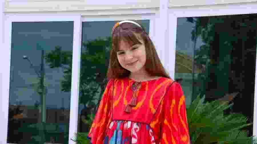 Sophia Valverde é intérprete de Poliana em novela do SBT (Divulgação: SBT) - Sophia Valverde é intérprete de Poliana em novela do SBT (Divulgação: SBT)