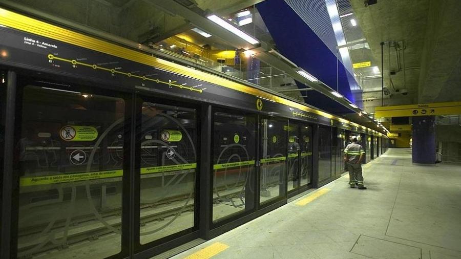 Monitoramento na linha 4 do metrô de São Paulo já deu polêmica... -