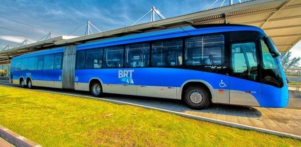 Veículo do sistema BRT