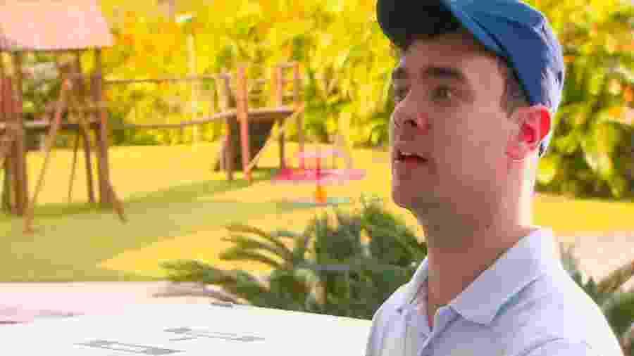 Lucas Papp como Mosquito em As Aventuras de Poliana (Divulgação / SBT) - Divulgação / SBT