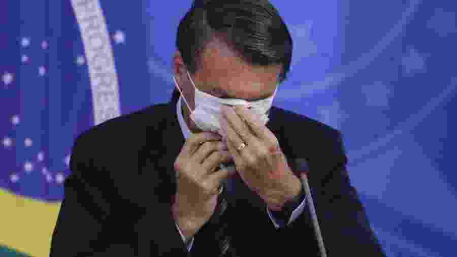O presidente da República, Jair Bolsonaro (sem partido)                              -                                 SERGIO LIMA/AFP