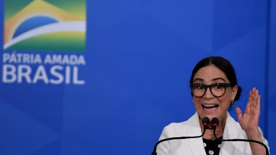 A Secretária Especial da Cultura Regina Duarte  - Divulgação