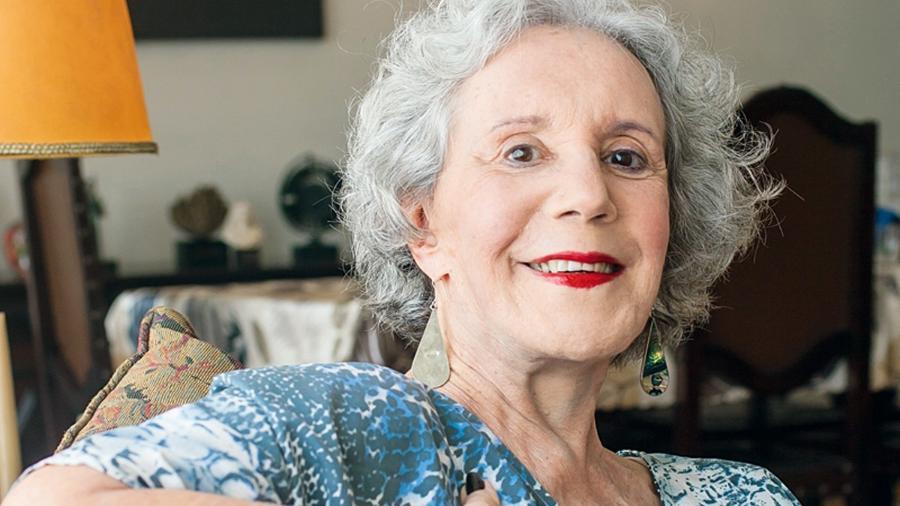 A atriz Maria Alice Vergueiro (1935-2020), que teve grande carreira no teatro e ficou famosa por um vídeo na internet - Reprodução / Internet