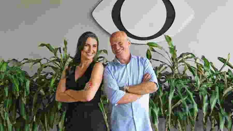 Glenda Kozlowski e Elia Júnior comandam o Show do Esporte, aos domingos, a partir das 10h - Divulgação/Band