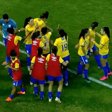 Avaí/Kindermann vence o São Paulo no jogo de ida do Brasileirão feminino: volta terá exibição na ESPN - Reprodução/ YouTube