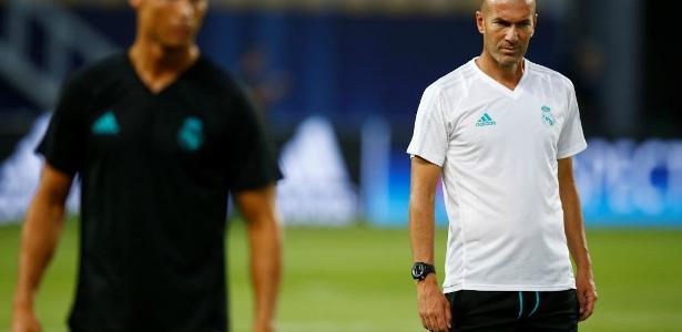 Zidane ressaltou Neymar