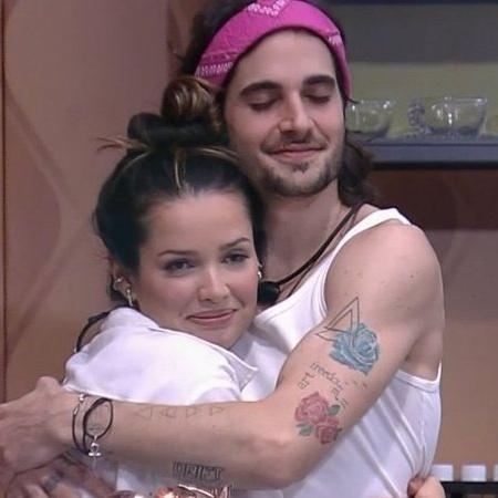 Juliette e Fiuk -  amor à primeira vista no BBB21? - Reprodução/Globo