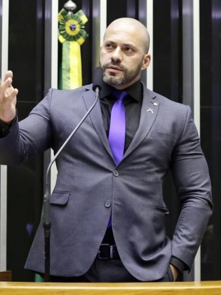 Deputado Daniel Silveira - Michel Jesus/Câmara dos Deputados