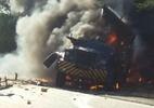 Carro-forte é alvo de explosão no Sertão de Pernambuco - Foto: Cortesia