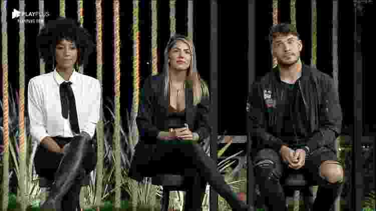 fazenda - Sabrina, Hariany e Lucas em A Fazenda 11 (Foto :Reprodução/PlayPlus) - Sabrina, Hariany e Lucas em A Fazenda 11 (Foto :Reprodução/PlayPlus)