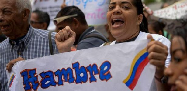 Os venezuelanos enfrentam a pior crise econômica na histórica do país - Foto: FEDERICO PARRA / AFP