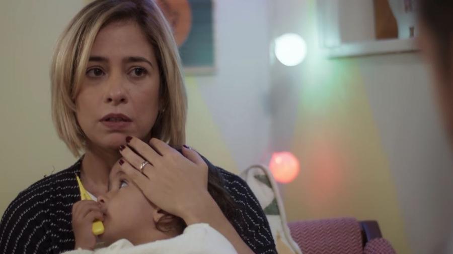 Lígia (Paloma Duarte) e Nina em Malhação (Reprodução/TV Globo). - Lígia (Paloma Duarte) e Nina em Malhação (Reprodução/TV Globo).