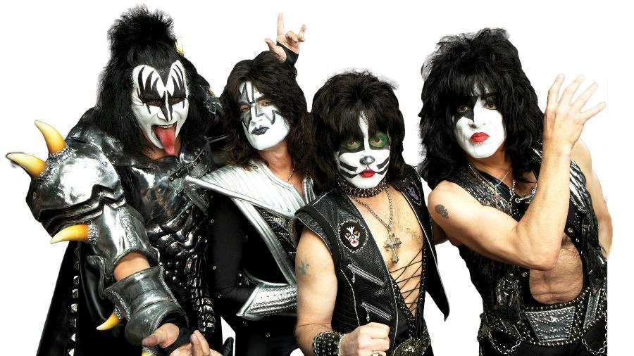 A banda nova-iorquina Kiss (FOTO: Reprodução) - A banda nova-iorquina Kiss (FOTO: Reprodução)