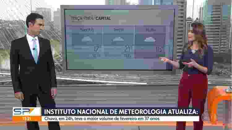 Cesar Tralli fala sobre chuva  - Reprodução/YouTube - Reprodução/YouTube