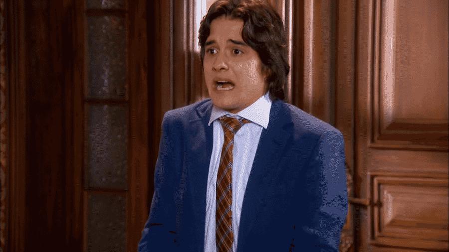 Júnior (Guilherme Boury) em cena de Chiquititas (Reprodução / Netflix) - Reprodução / Internet