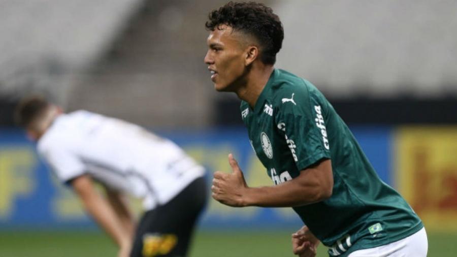 Gabriel Veron, do Palmeiras, é o jogador mais caro da Libertadores-2021 - Reprodução/Palmeiras