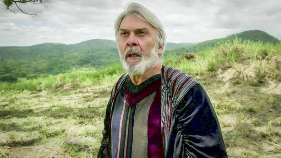 Abrão (Zé Carlos Machado) em Gênesis (Divulgação/ Record TV) - Reprodução / Internet