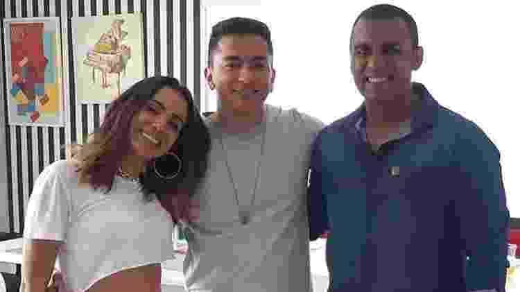 Anitta e irmãos Renan Machado e Felipe Terra - Anitta e irmãos Renan Machado e Felipe Terra (Foto: Reprodução/ Instagram)