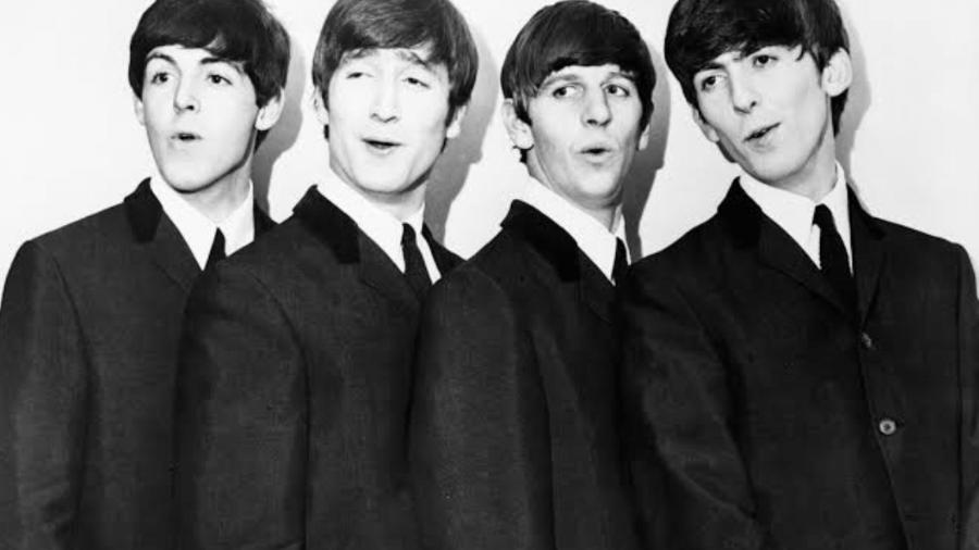A banda britânica The Beatles - Reprodução