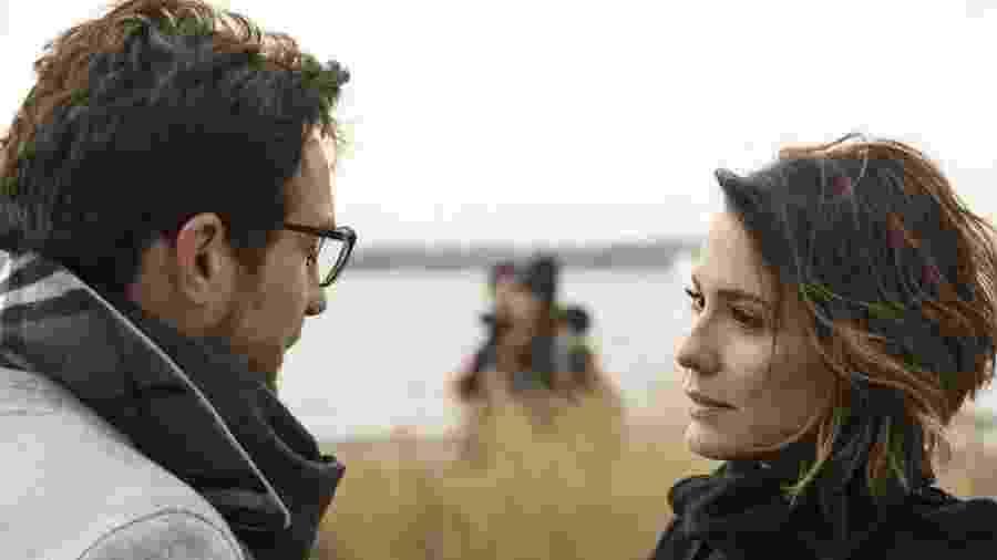 Igor Rickli e Juliana Knust como Benjamin e Zoe em Apocalipse (Divulgação / Record TV) - Reprodução / Internet