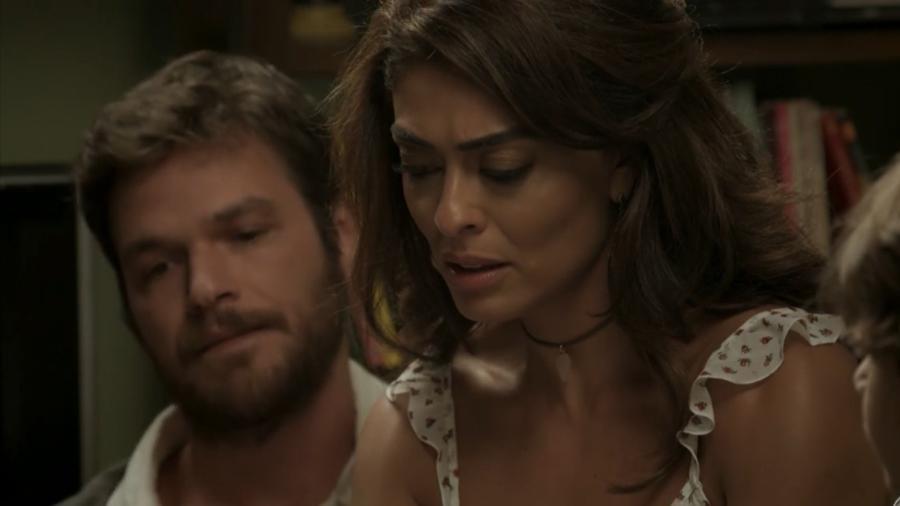 Rubinho (Emílio Dantas) e Bibi (Juliana Paes) em A Força do Querer (Reprodução/TV Globo). - Reprodução / Internet