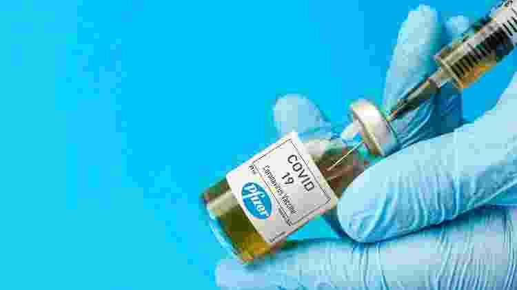 Vacina da Pfizer - Shutterstock - Shutterstock