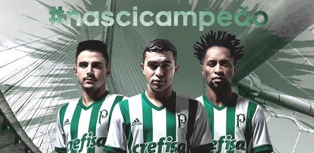 Palmeiras, camisa II para 2017/18, da Adidas