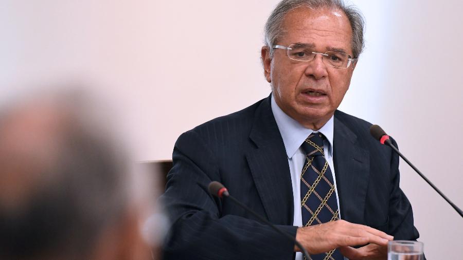 O ministro da economia, Paulo Guedes - Edu Andrade/ME